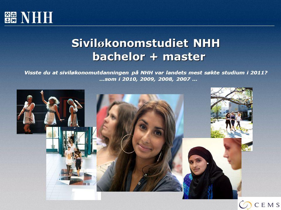 Siviløkonomstudiet NHH bachelor + master