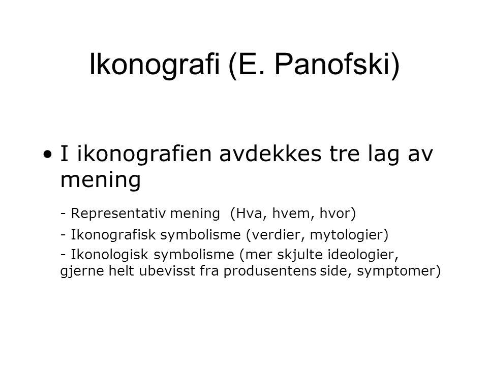 Ikonografi (E. Panofski)