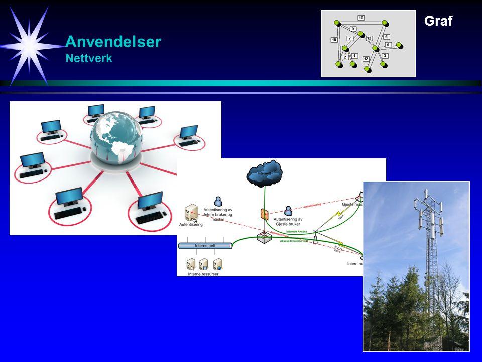 Graf Anvendelser Nettverk