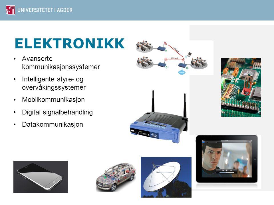 ELEKTRONIKK Avanserte kommunikasjonssystemer