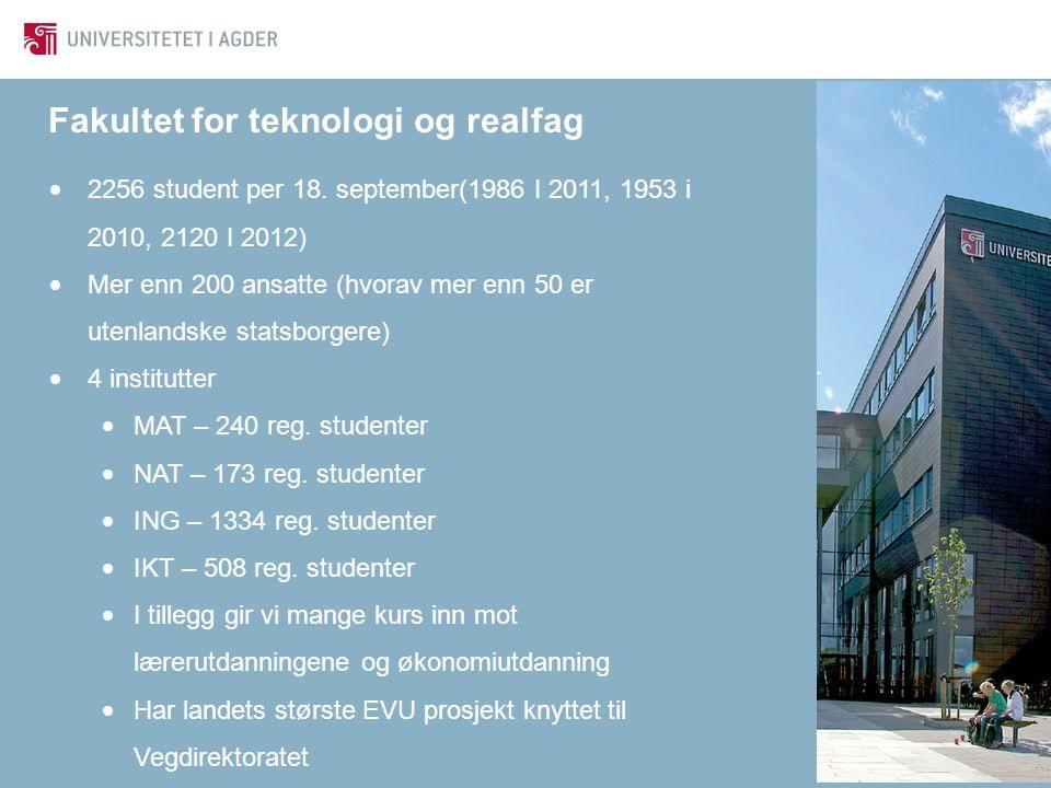 Fakultet for teknologi og realfag
