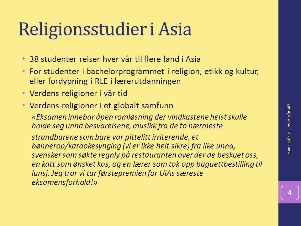 Religionsstudier i Asia