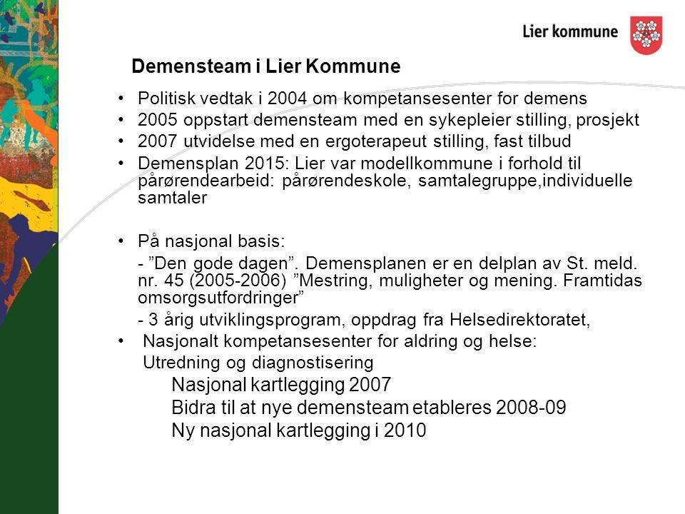 Demensteam i Lier Kommune
