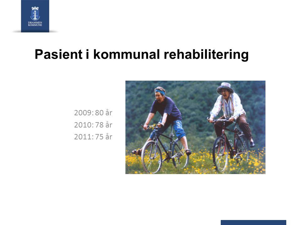 Pasient i kommunal rehabilitering