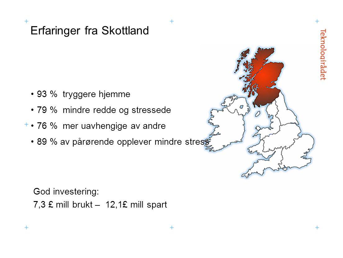 Erfaringer fra Skottland