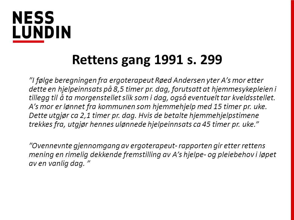 Rettens gang 1991 s. 299