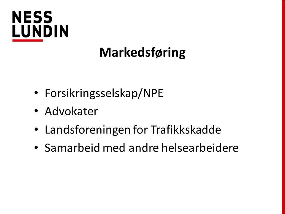 Markedsføring Forsikringsselskap/NPE Advokater