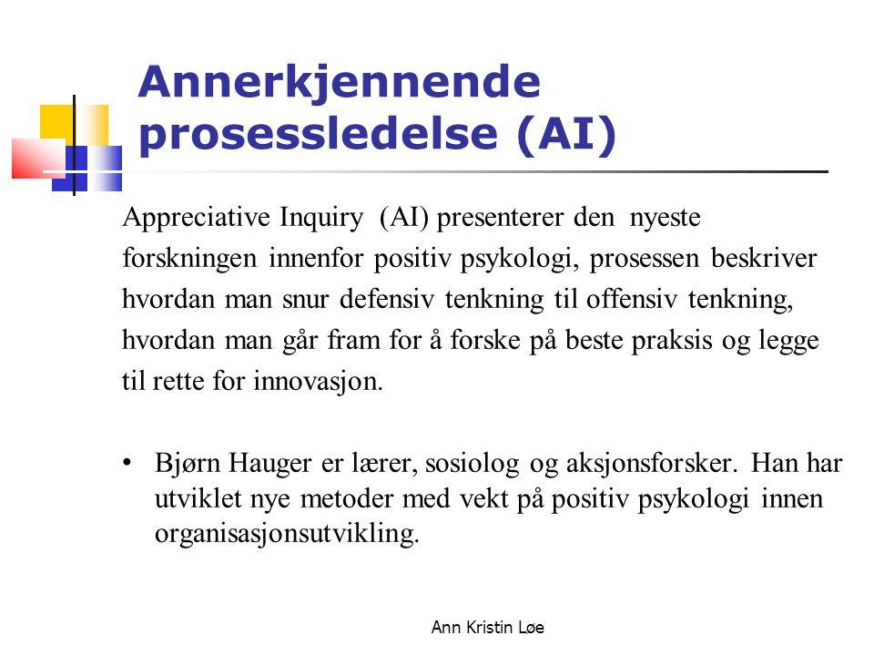 Annerkjennende prosessledelse (AI)