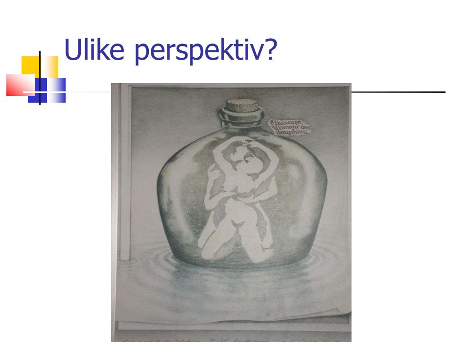 18.10.09 Ulike perspektiv Ann Kristin Løe