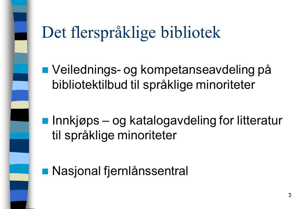 Det flerspråklige bibliotek