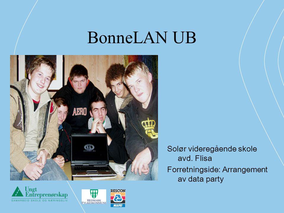 BonneLAN UB Solør videregående skole avd. Flisa