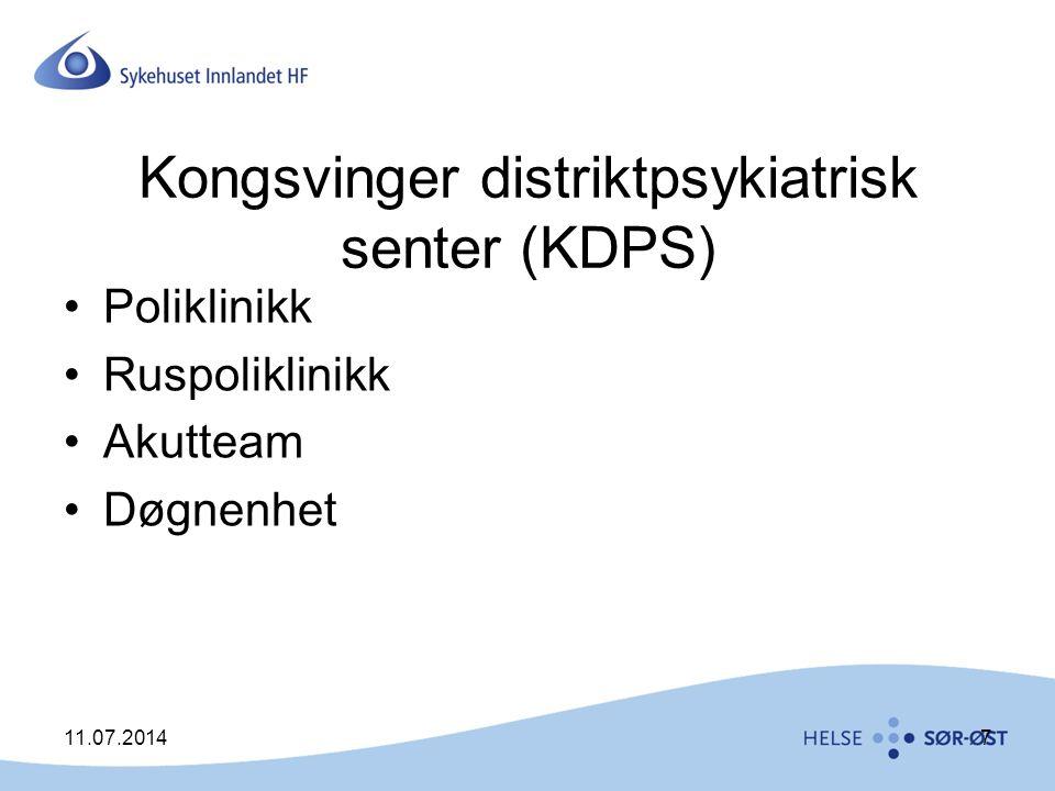 Kongsvinger distriktpsykiatrisk senter (KDPS)