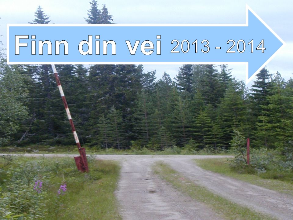 Finn din vei 2013 - 2014