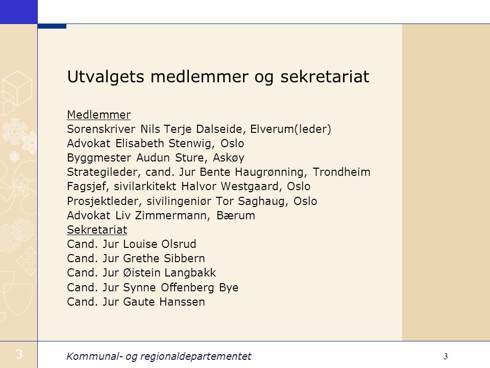 Utvalgets medlemmer og sekretariat