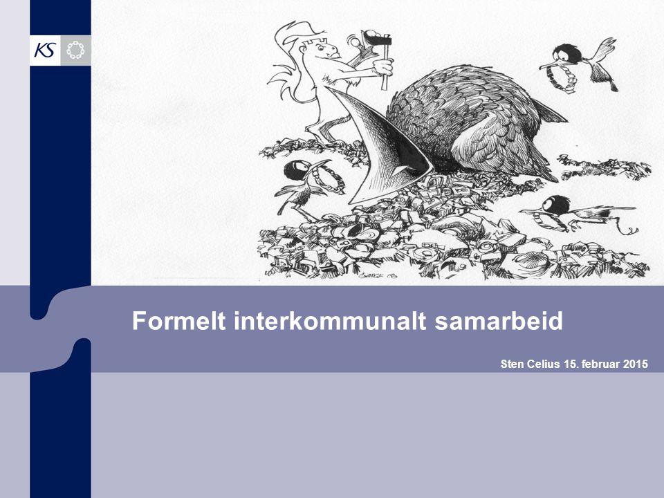 Formelt interkommunalt samarbeid