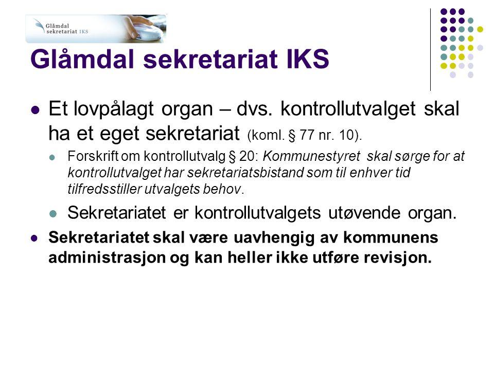 Glåmdal sekretariat IKS