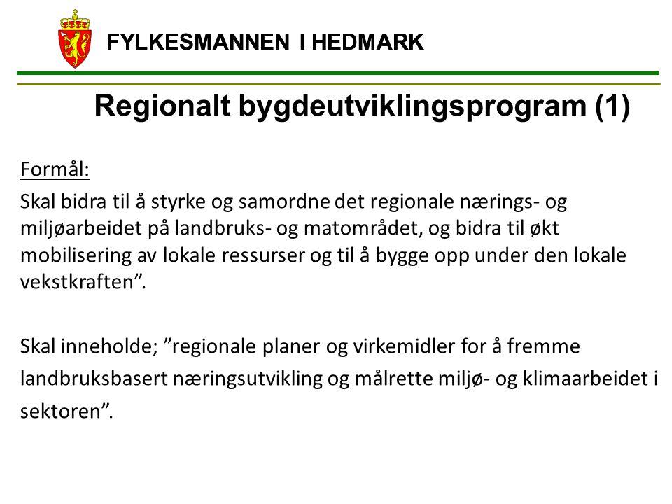 Regionalt bygdeutviklingsprogram (1)