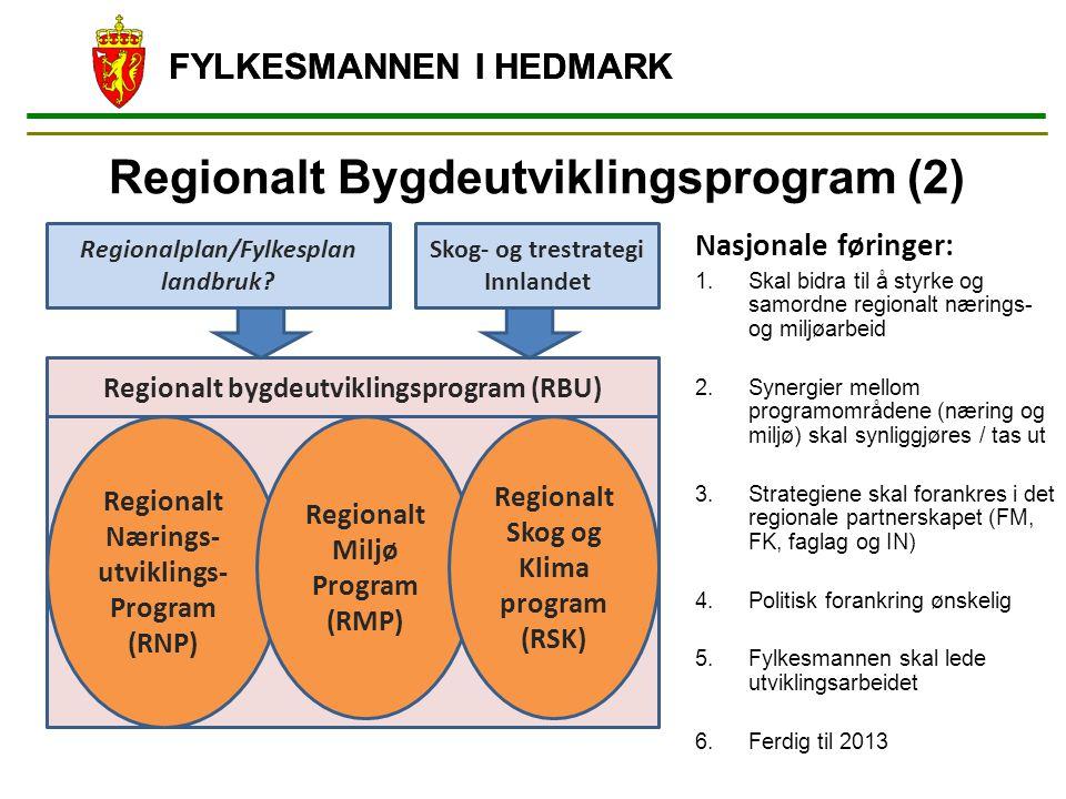 Regionalt Bygdeutviklingsprogram (2)