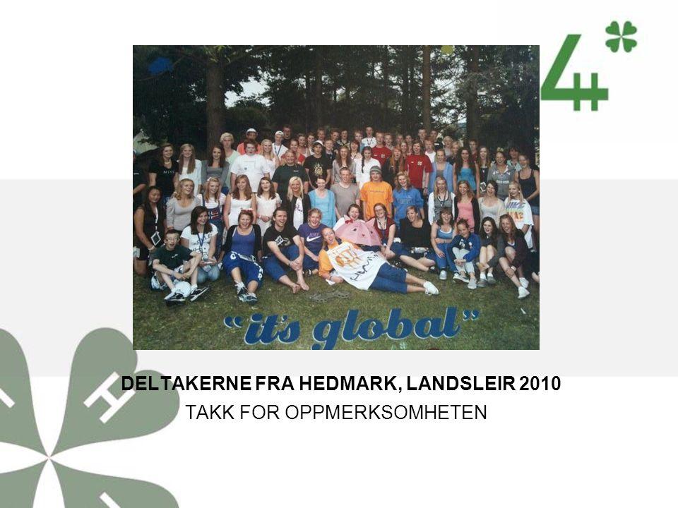 DELTAKERNE FRA HEDMARK, LANDSLEIR 2010