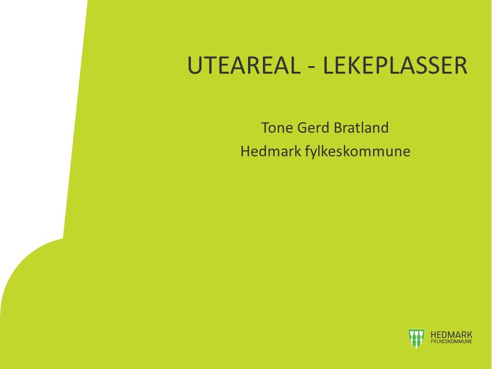 UTEAREAL - LEKEPLASSER