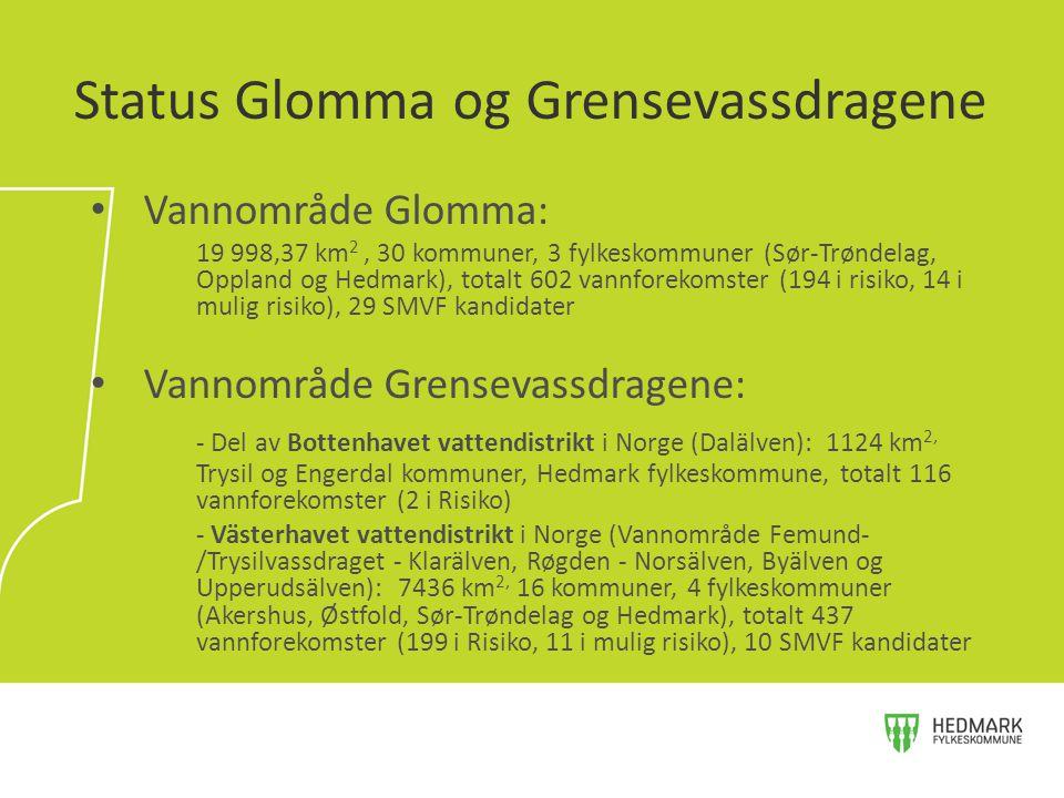 Status Glomma og Grensevassdragene