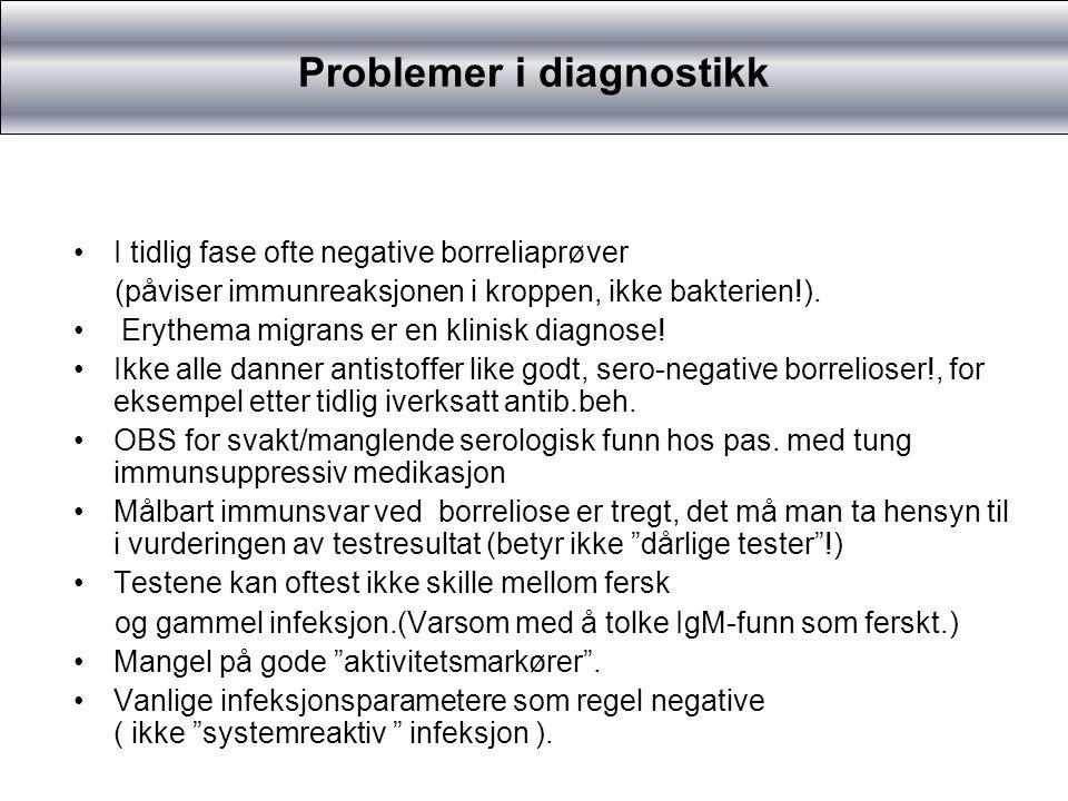 Problemer i diagnostikk