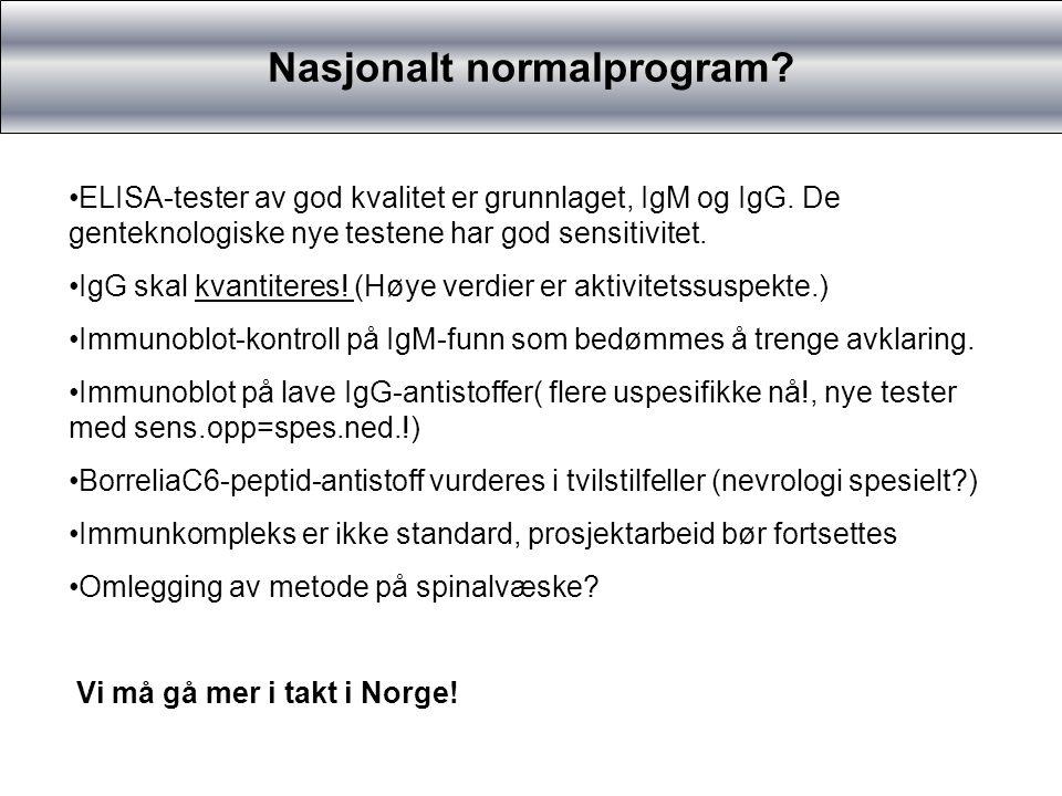 Nasjonalt normalprogram