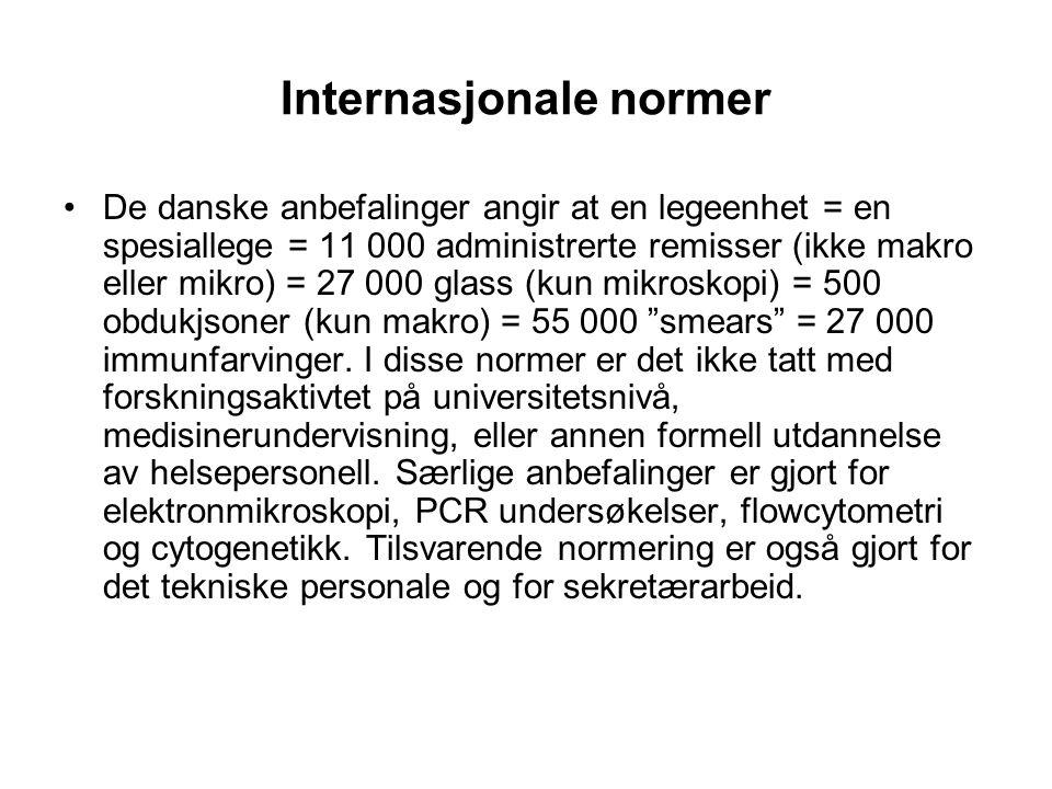 Internasjonale normer