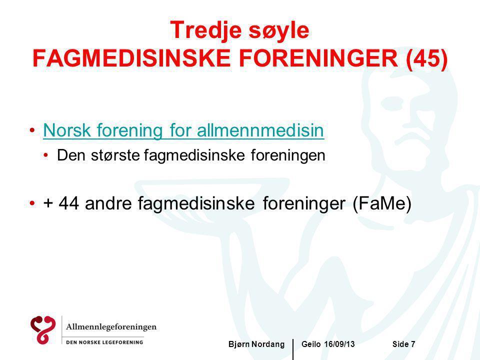 Tredje søyle FAGMEDISINSKE FORENINGER (45)