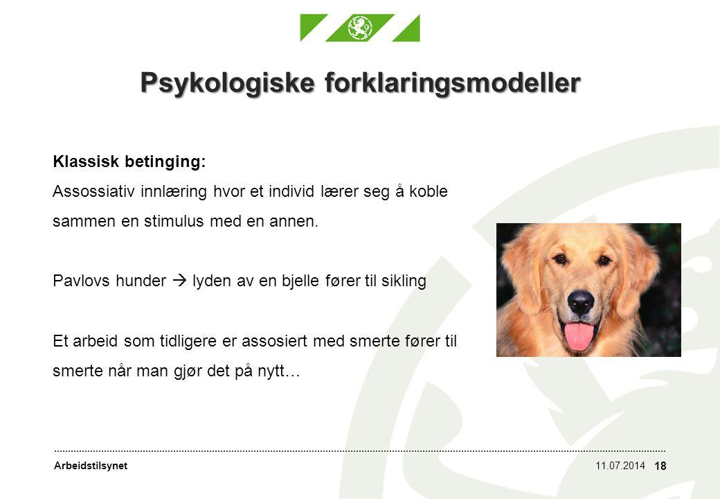 Psykologiske forklaringsmodeller