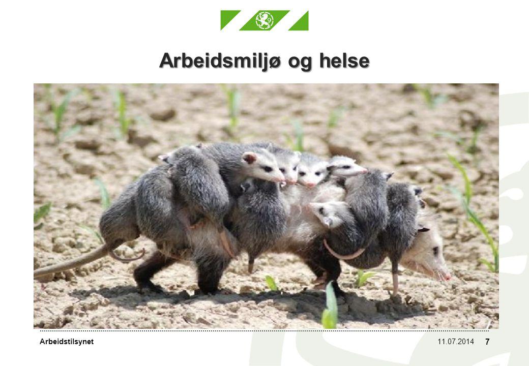 Arbeidsmiljø og helse Hver enkelt omsorgsperson får en stor byrde å bære. 04.04.2017