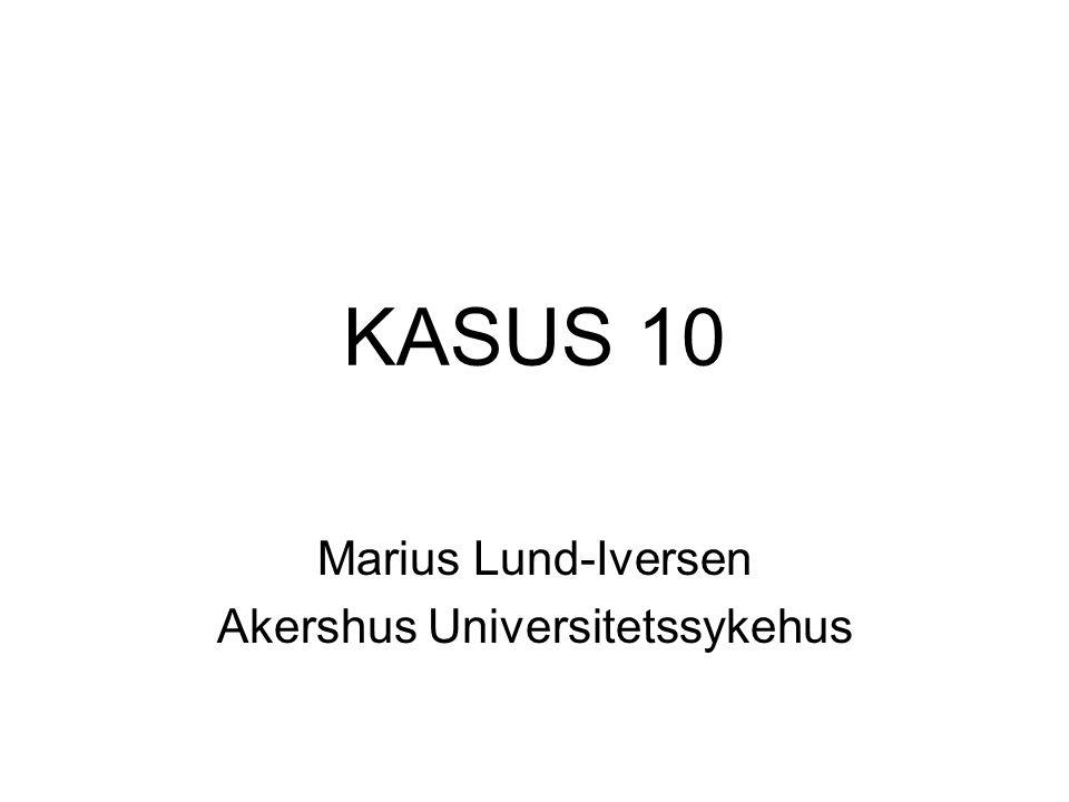 Marius Lund-Iversen Akershus Universitetssykehus