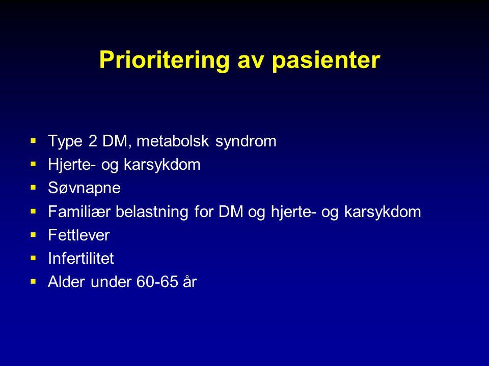 Prioritering av pasienter