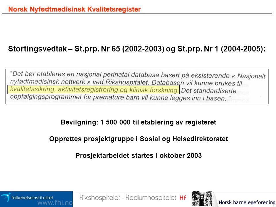 Norsk Nyfødtmedisinsk Kvalitetsregister