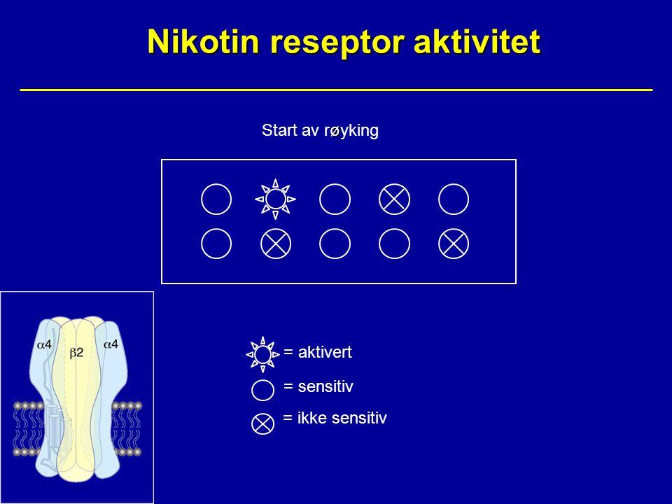 Nikotin reseptor aktivitet