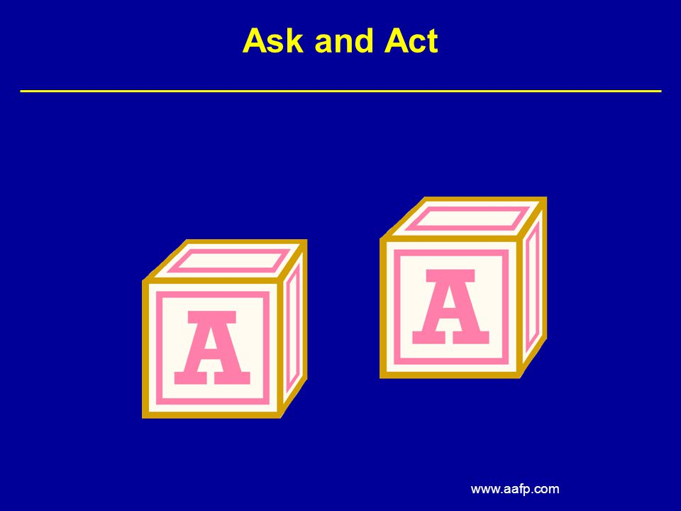 Ask and Act www.aafp.com