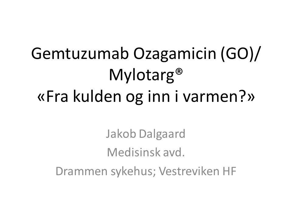 Gemtuzumab Ozagamicin (GO)/ Mylotarg® «Fra kulden og inn i varmen »