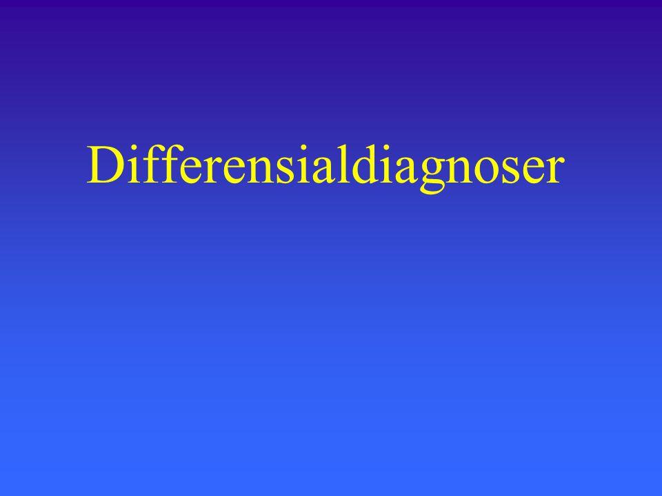 Differensialdiagnoser