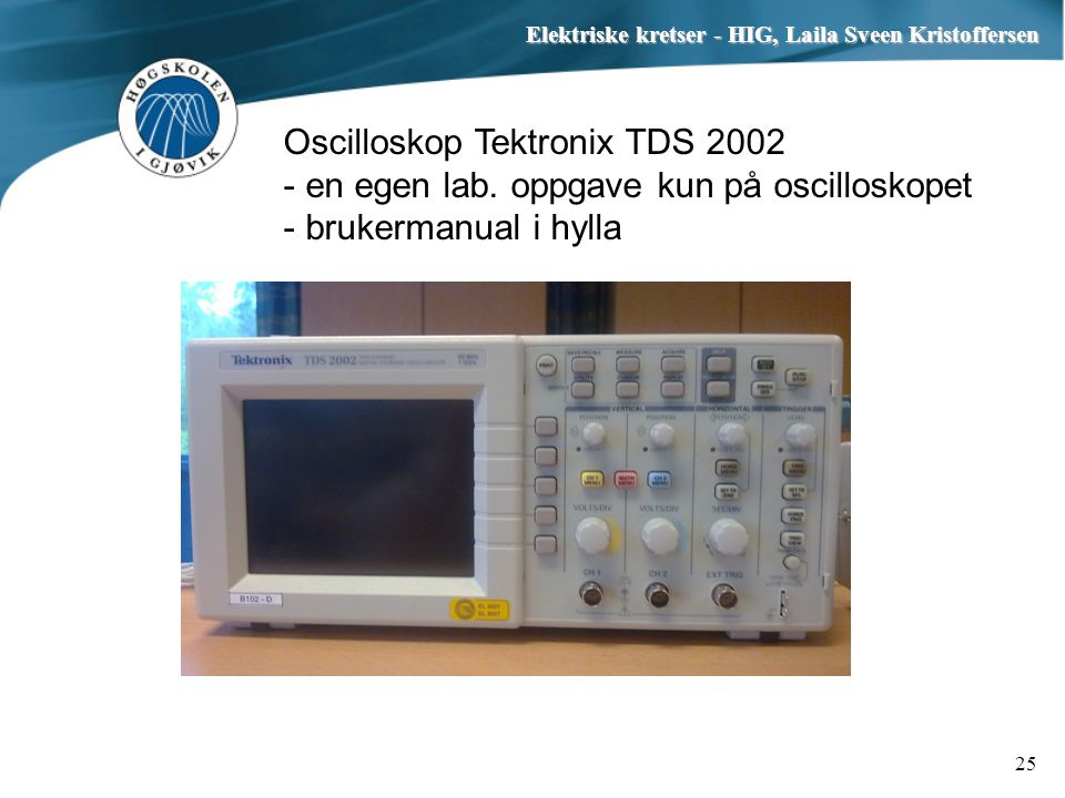 Oscilloskop Tektronix TDS 2002