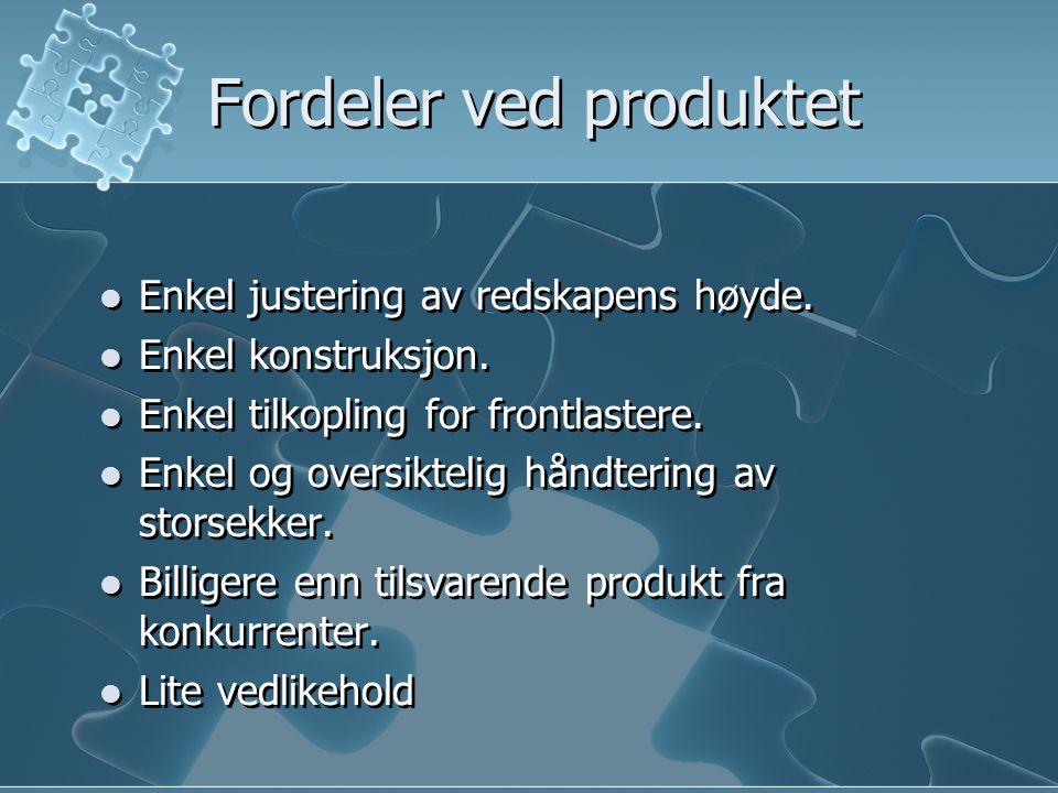 Fordeler ved produktet