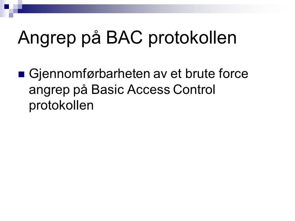 Angrep på BAC protokollen