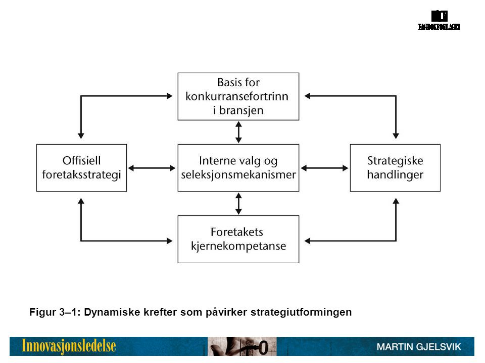 Figur 3–1: Dynamiske krefter som påvirker strategiutformingen