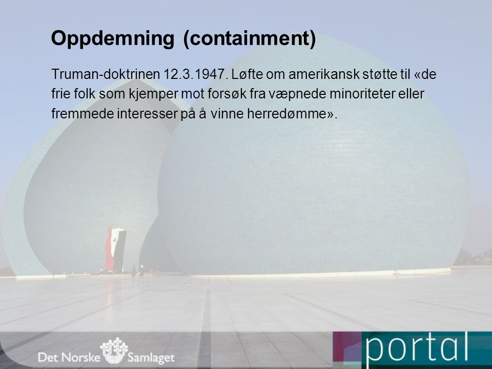 Oppdemning (containment)