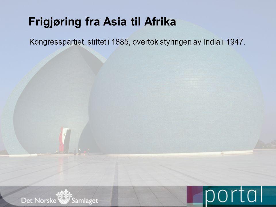 Frigjøring fra Asia til Afrika