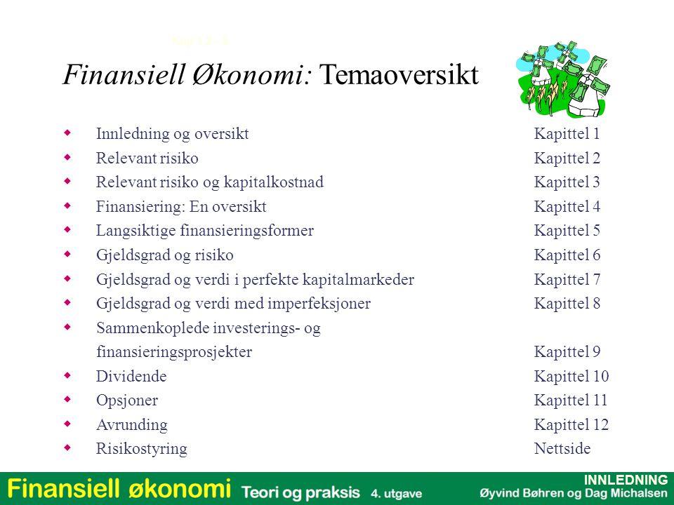 Finansiell Økonomi: Temaoversikt