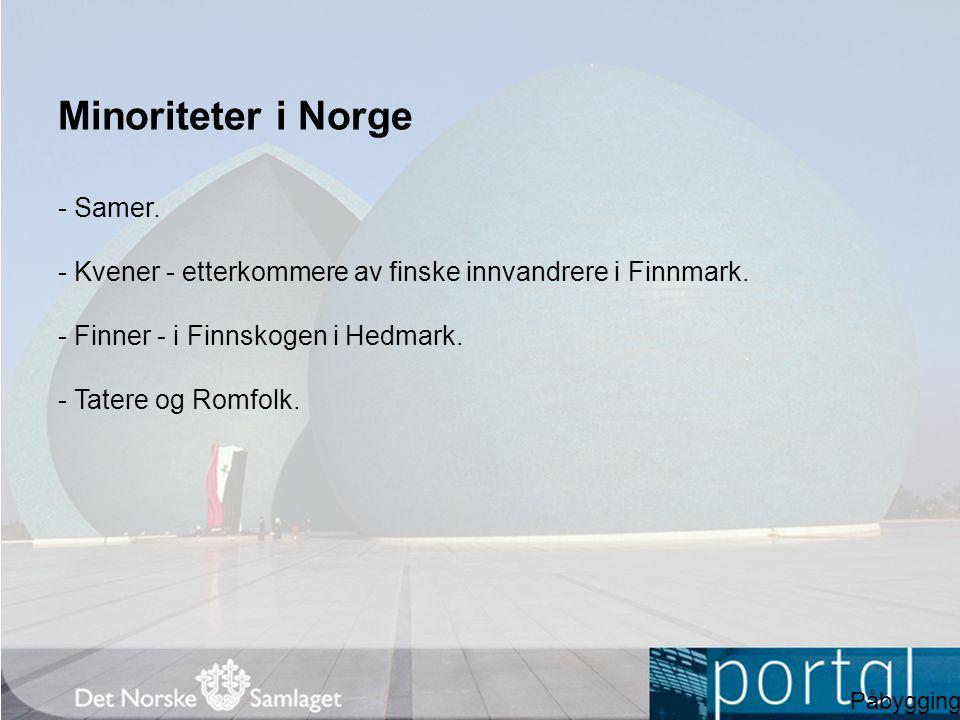 Minoriteter i Norge - Samer.