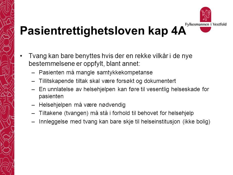 Pasientrettighetsloven kap 4A