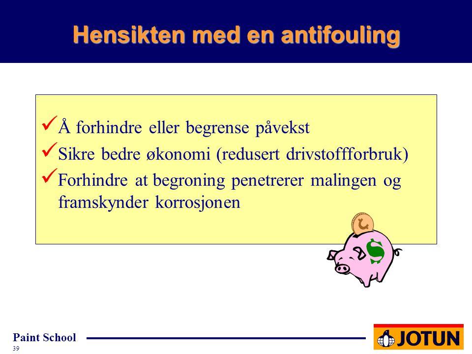 Hensikten med en antifouling