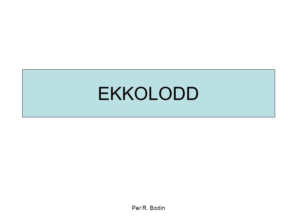 EKKOLODD Per R. Bodin