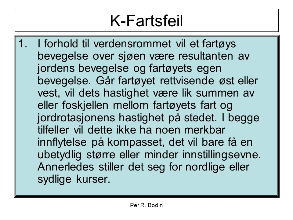 K-Fartsfeil